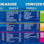Horarios Festival de la Luz 2016