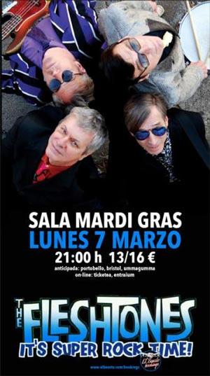 Concierto De The Fleshtones En A Coru A Ocio En Galicia