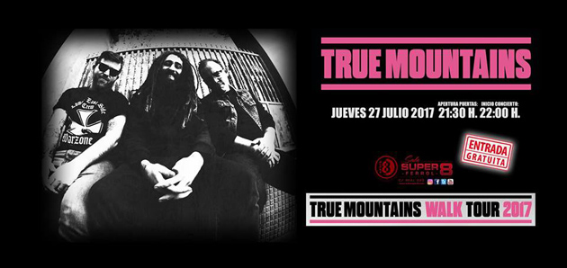 Concierto de true mountains en sala super 8 ocio en for Sala super 8 ferrol