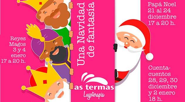 Fotos Papa Noel Reyes Magos.As Termas Recibe A Papa Noel Y Los Reyes Magos En Lugo Ocio