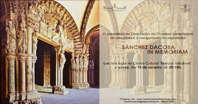 Exposición de Sergio Sánchez Dacosta
