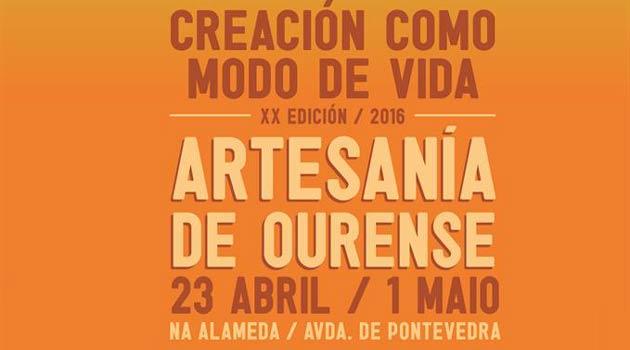 Feria de artesan a 2016 de ourense ocio en galicia ocio for Feria de artesanias 2016