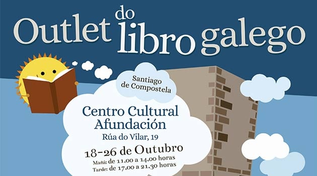Outlet del Libro Gallego en Santiago de Compostela. Ocio en Galicia ...