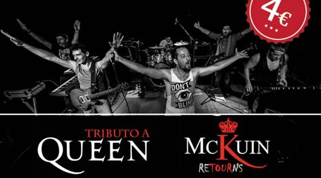 Mckuin tributo a queen en santiago de compostela ocio for Sala queen pontevedra
