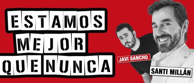 Santi-Millan-y-Javi-Sancho-presentan-Estamos-mejor-que-nunca-en-Santiago-de-Compostela