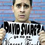 David Suárez ya no es Vincent Finch